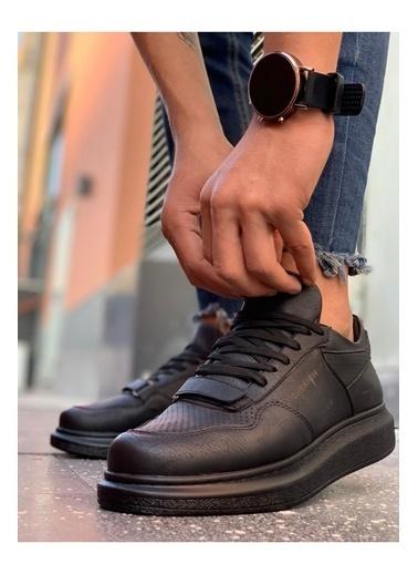 Chekich CH073 ST Erkek Ayakkabı SIYAH Siyah